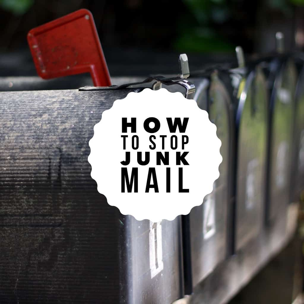 how to stop junk mail title page - mailboxes