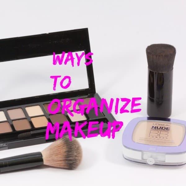 Ways to Organize Makeup title