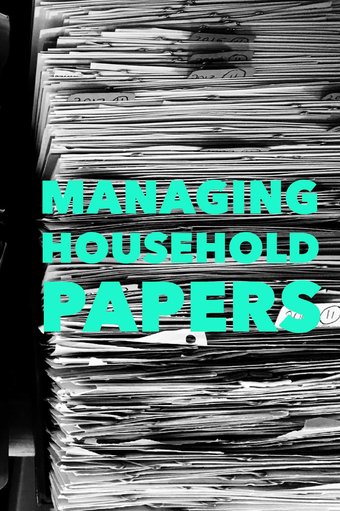 Managing Household Papers Title