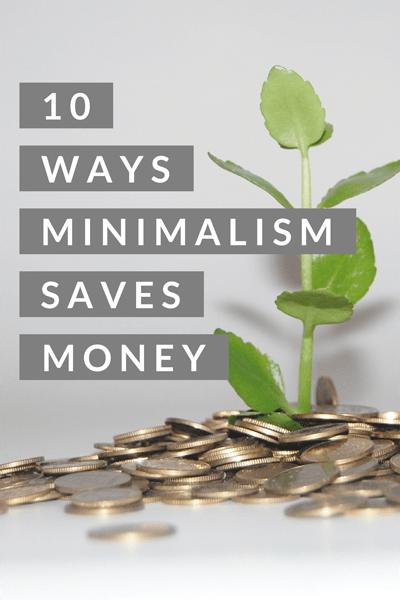10 Ways Minimalism Saves Money