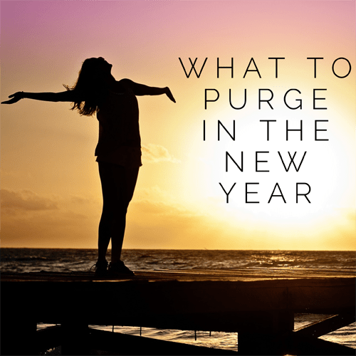 What to Purge in the New Year